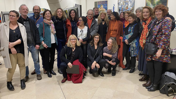 Vernissage 4ème Biennale Versaillaise